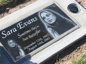 Custom Flat Headstones